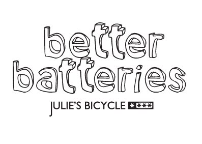 Better Batteries- Rechargeable Batteries for the Arts