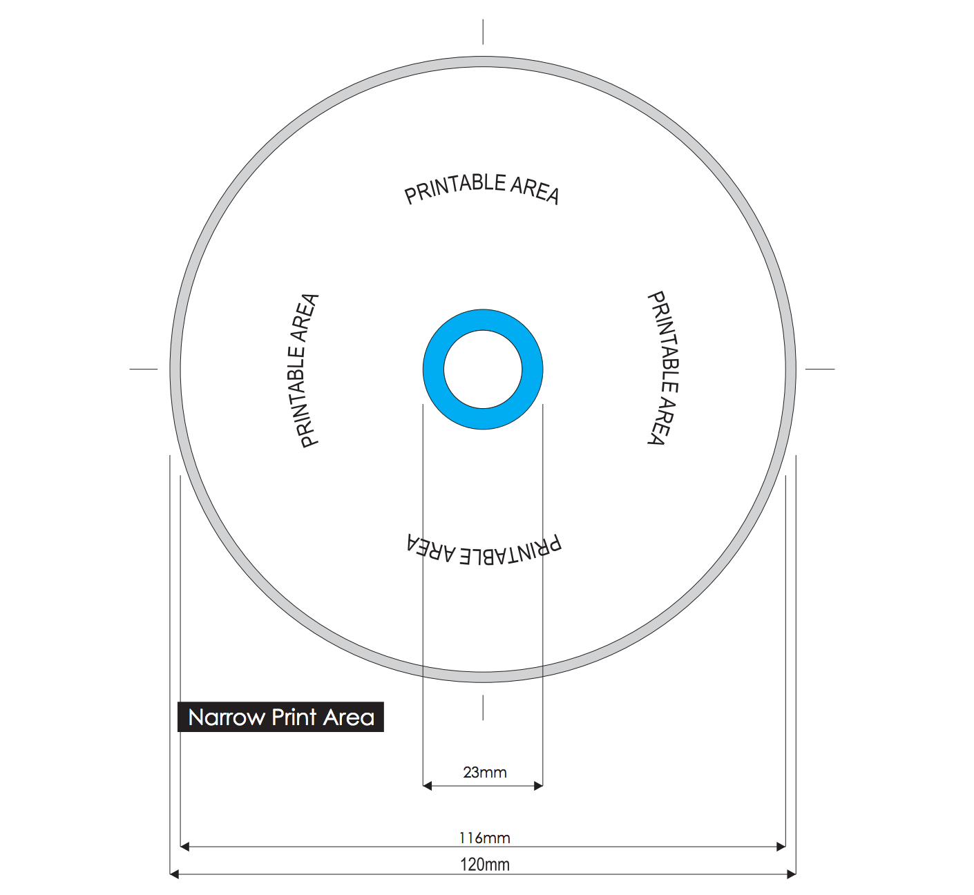hight resolution of cd template disc