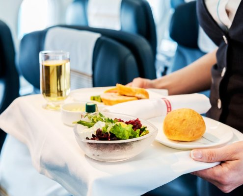 what airline foods are best to eat