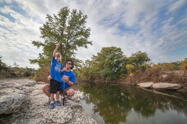 mckinney falls state park texas parks wildlife fishing creek