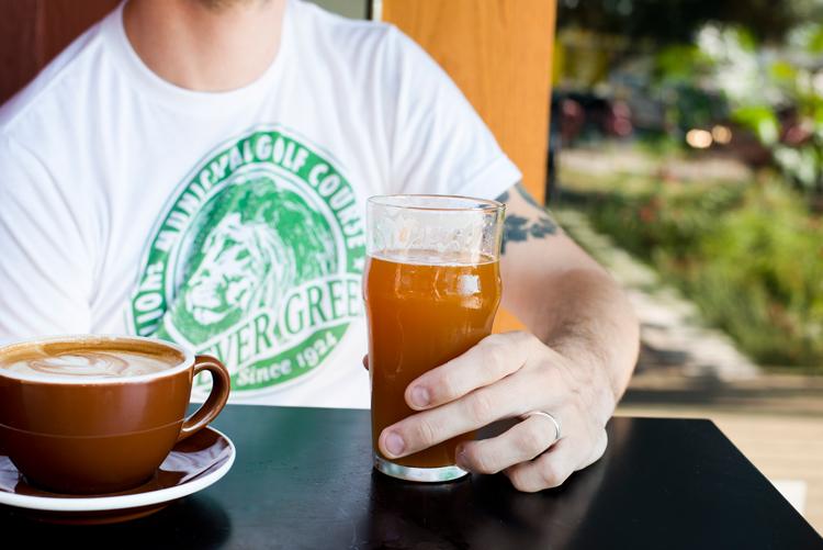 coffee cappuccino espresso americano latte beer