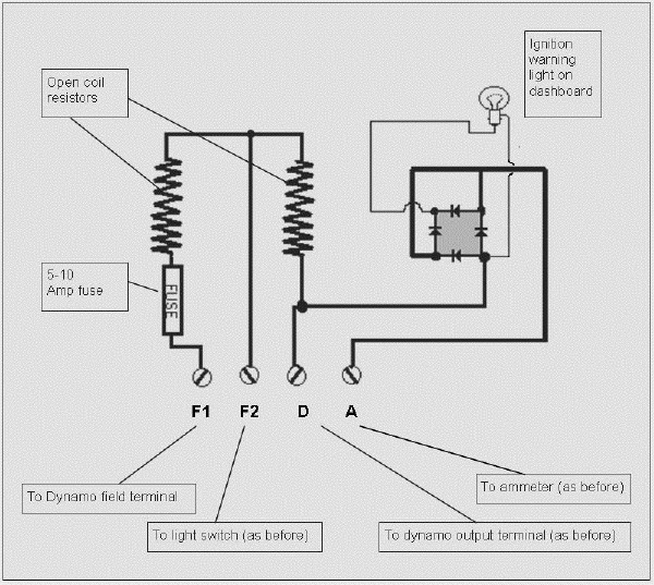 willys 12 volt generator wiring diagram