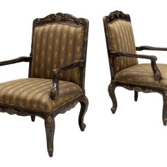 Oversized Arm Chair Revolving At Cheapest Rate 2 Oversize Louis Xv Style Designer Chairs Holiday