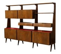 ITALIAN MID-CENTURY MODERN ROSEWOOD BOOKCASE - SPECIAL ...