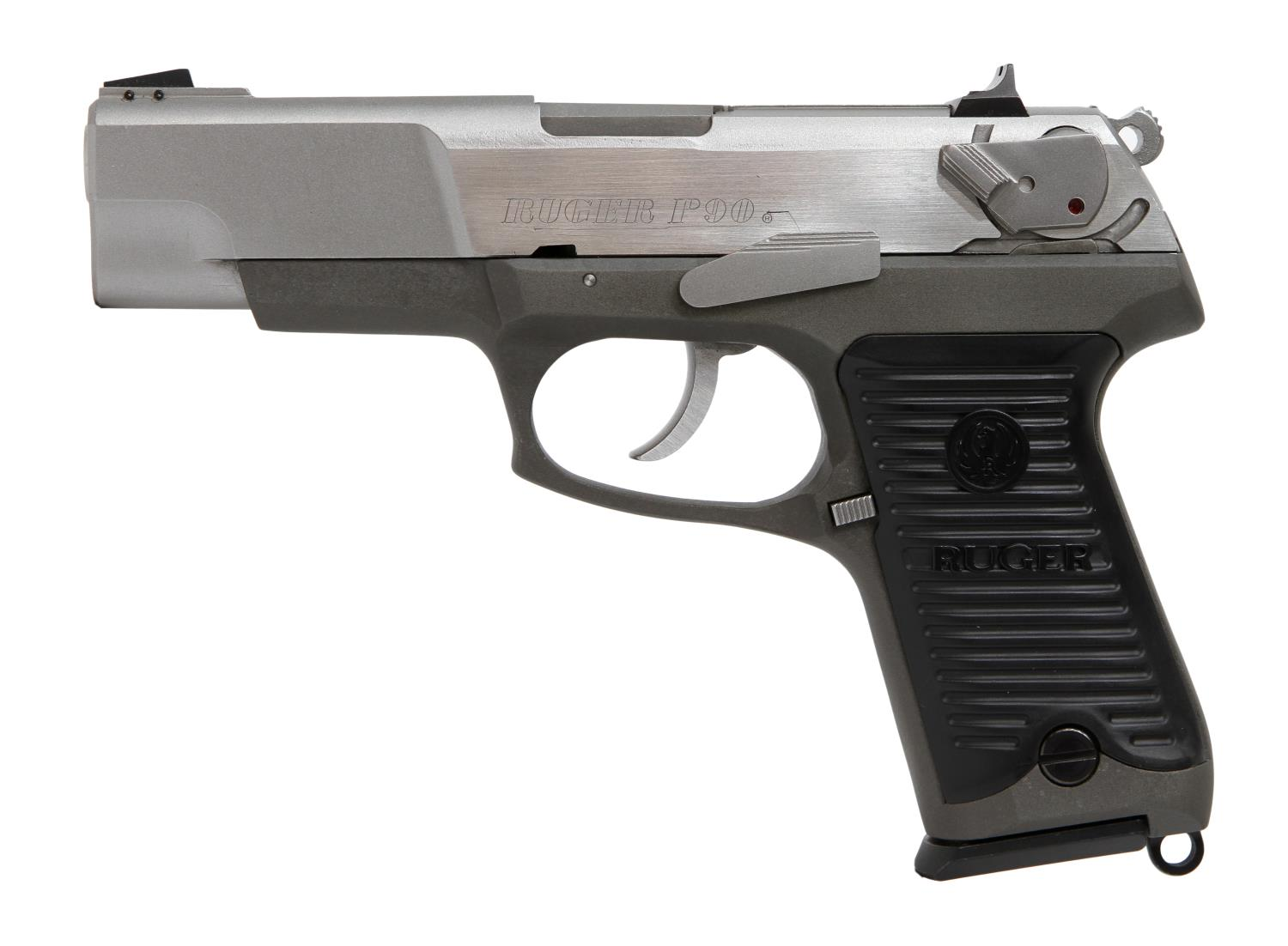 Ruger P90 Stainless 45acp Pistol