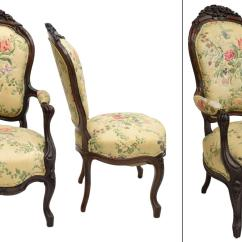 Victorian Parlor Chairs Uw Terrace 3 American Carved Spectacular