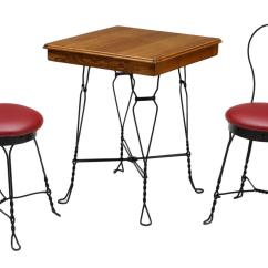 Ice Cream Parlor Table And Chairs Chair Positions For Extraction 3 American February