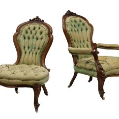 Victorian Parlor Chairs Best Modern Rocking Chair For Nursery 2 Ladies And Gentleman 39s April