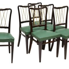 Italian Designer Dining Chairs Oak High Chair Unusual Mid Century Modern The