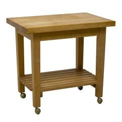 Kitchen Work Tables Pedestal Table Contemporary Butcher Block The