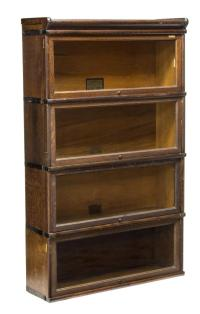 GLOBE WERNICKE OAK LAWYERS BOOKCASE