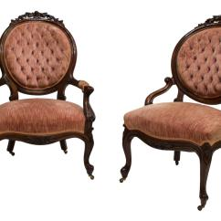 Victorian Parlor Chairs Babies R Us Kids 2 American Carved The Crier