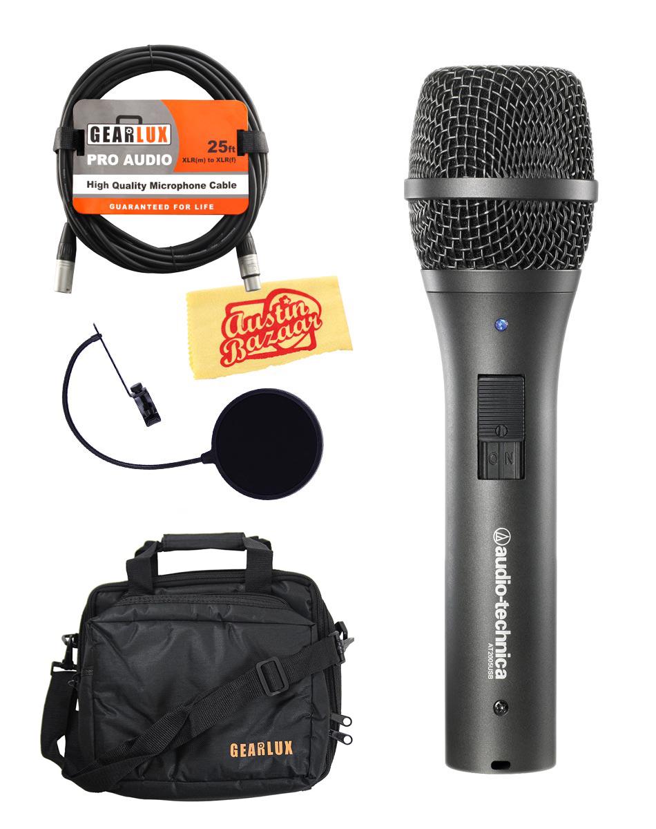 Audio-Technica AT2005USB Cardioid Dynamic USB/XLR Microphone w/ Gear Bag | eBay