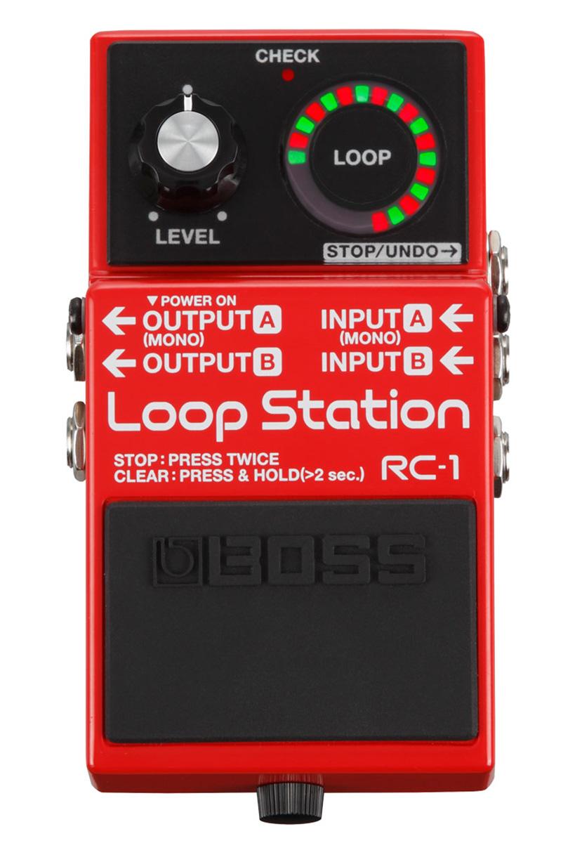 medium resolution of boss rc 1 loop station w power supply