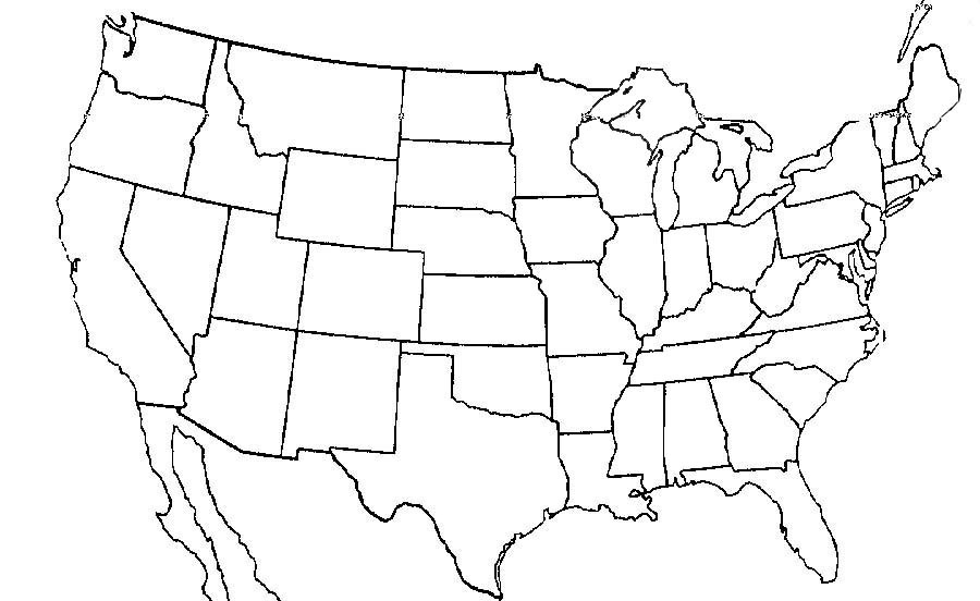 America Map Pdf