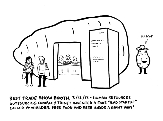 SX Sketchbook: Scenes from the Trade Show: 'Chronicle