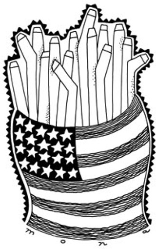 From Freedom Fries to Fess Parker: On French Fries, Grey