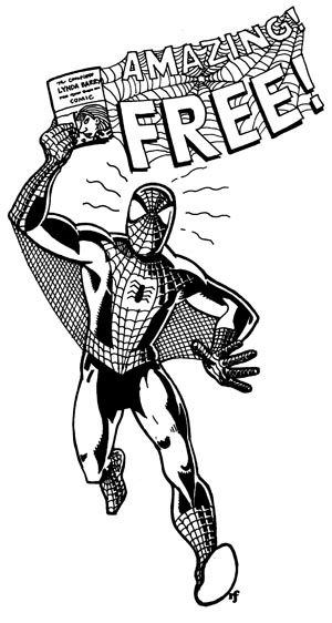 Free Comic Book Day: Hey kids! Free books with words and