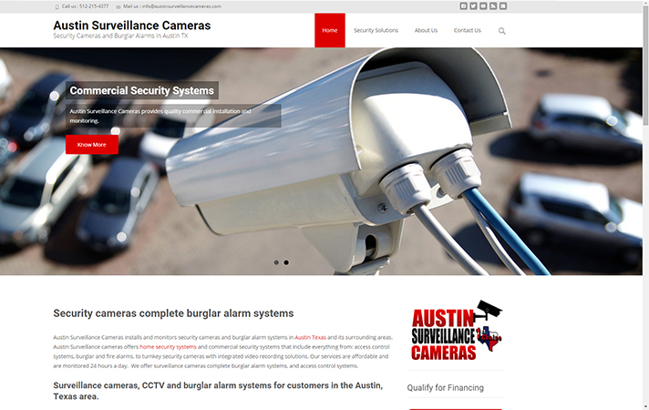 Security Cameras and Burglar Alarms for Austin Texas Residents www.austinsurveillancecameras.com