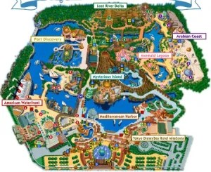 DisneySea Map