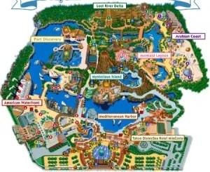 DisneySea Map
