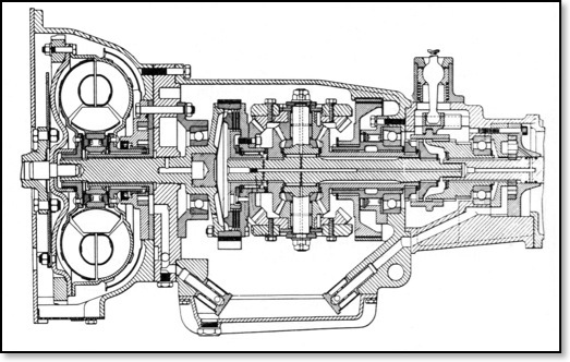 Mini-1100 AP Automatic Gearbox