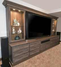 Custom Entertainment Centers Arizona Floating