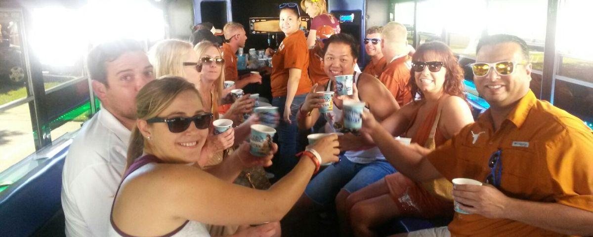 Austin prom party bus