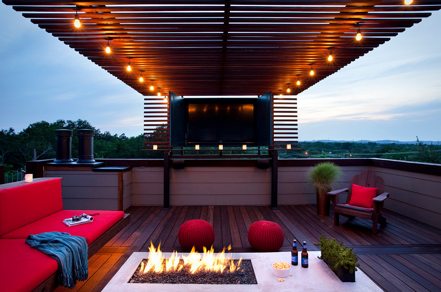 Rooftop Patio  austin outdoor design