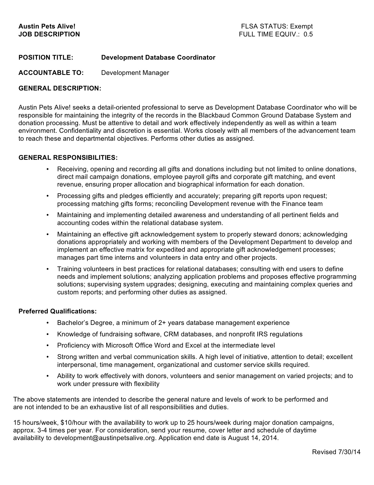 How To Write Availability In Cover Letter. Office Job Resume Sample