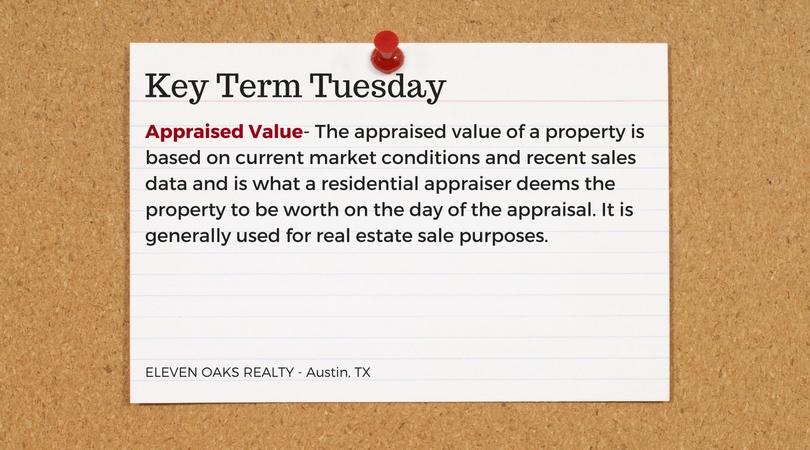 real estate appraised value