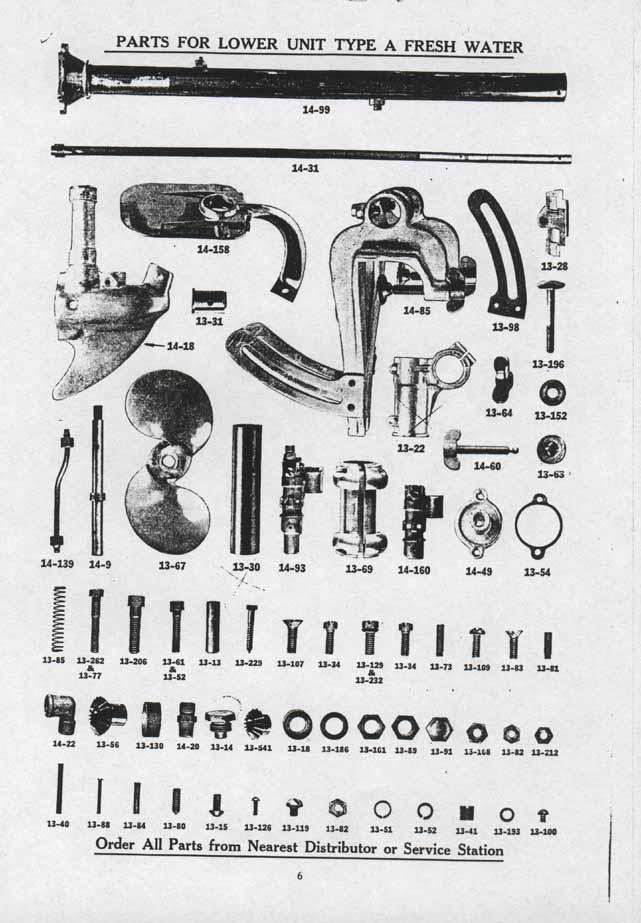pre 27 johnson parts
