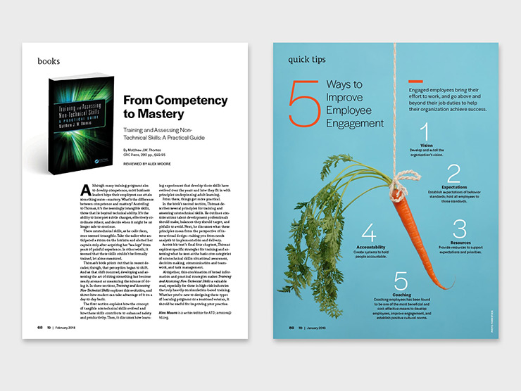 TD magazine redesign