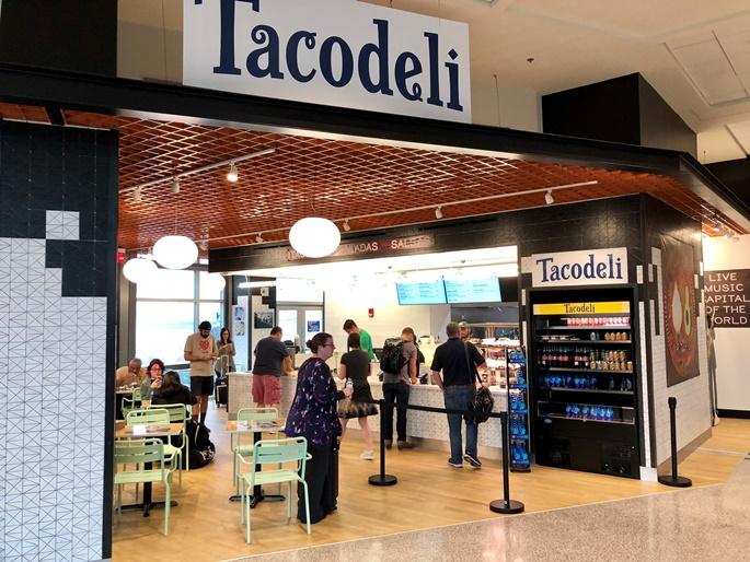 Tacodeli at Austin airport