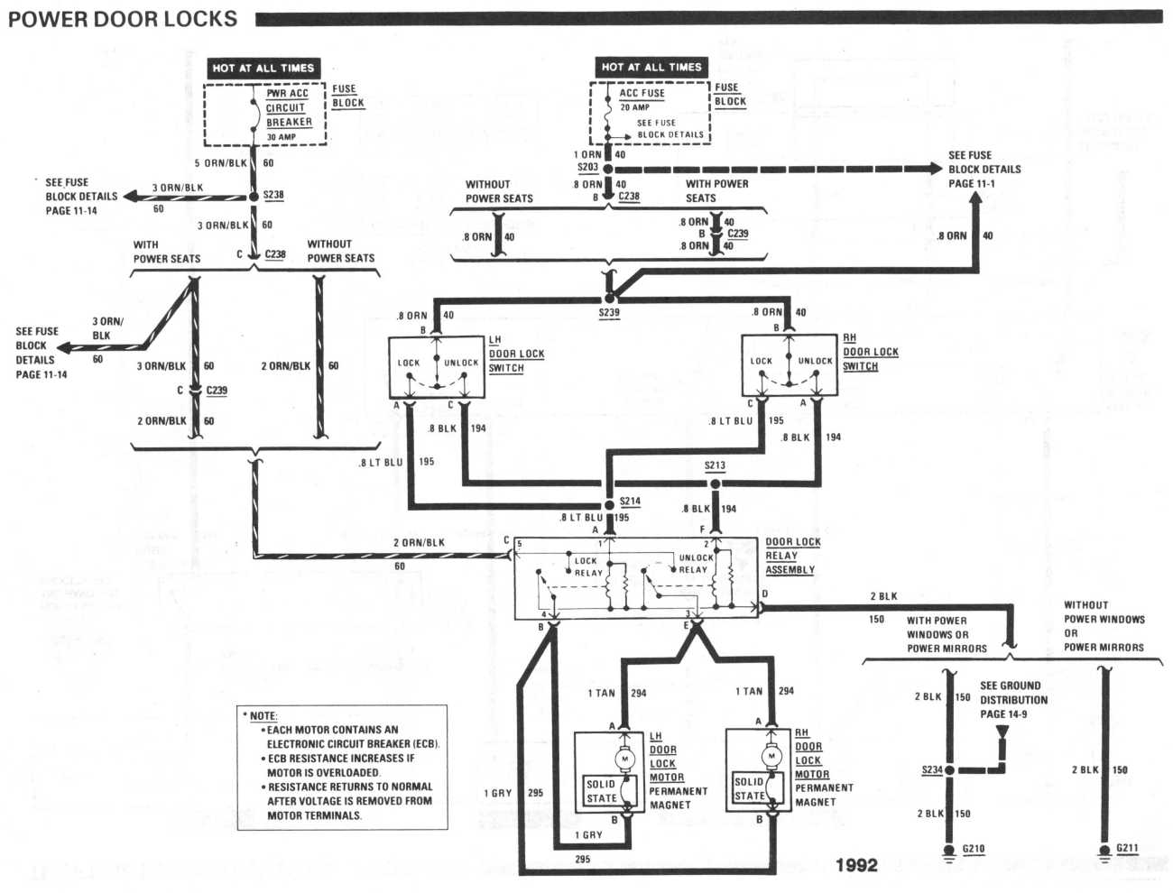 Door Relay & 1988 Ford F 350 Door Lock Wiring Diagrams