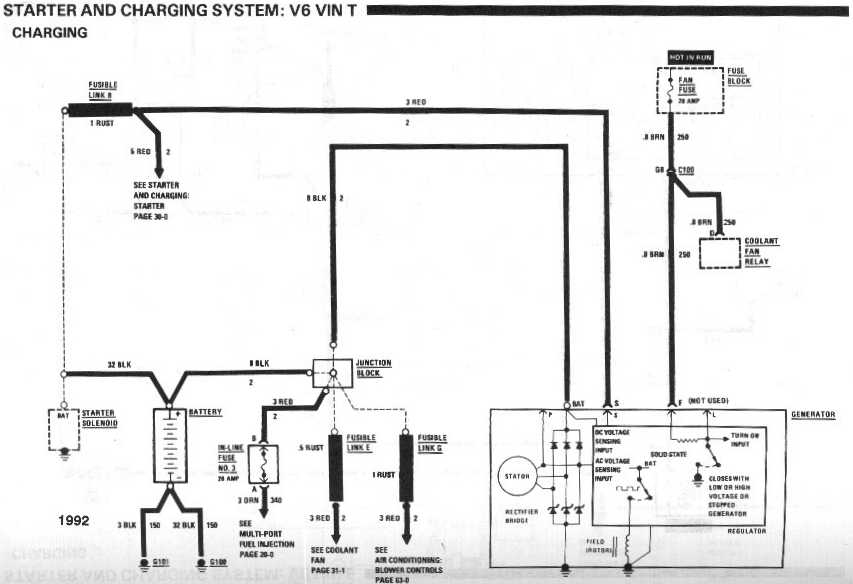 Factory 1991 Camaro Wiring Diagrams. 92 Camaro Fuse Box