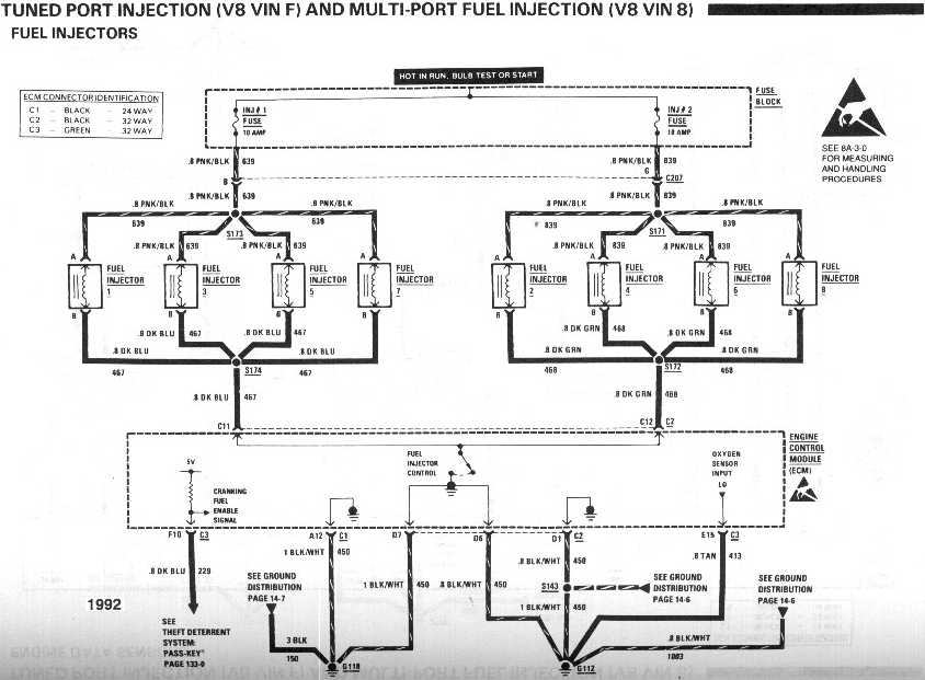 Tuned Port Injection Wiring Harness Tpi Computer Wiring Diagrams