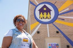 SHINING BRIGHT: Bernadette Hicks, the owner of ABC Toon Town in Oak Park, celebrated 20 years in business on Saturday. She has one of the few black-owned daycare providers in Oak Park. | SHANEL ROMAIN/Contributor