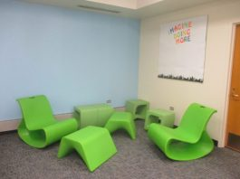 New furniture in the teen section. | IGOR STUDENKOV/Contributor