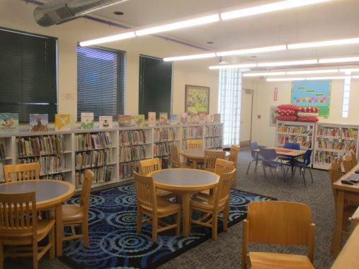 Back in play: Aside from the new carpeting and lighting, as well some touch-ups on the shelves, the adult section didn't change as much as the children's section. | IGOR STUDENKOV/Contributor