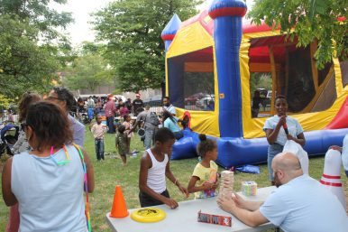 ODE TO FUN: Children enjoying themselves at the Third Annual Chicago Poetry Block Party in Austin on July 28. | WENDELL HUTSONContributor