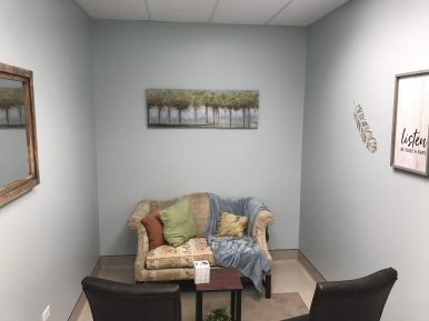 One of the center's relaxation rooms. | Michael Romain/Editor