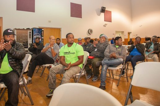 West Side residents during a meeting at St. Michael's. | SHANEL ROMAIN/Contributor