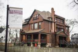 Schock designed the home at 5804 W Race Ave. in 1887 for his aunt. } Alexa Rogals/Staff Photographer