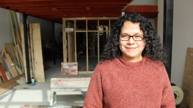 COMING SOON: Ivonne Cruz was supported by the Neighborhood Opportunity Fund to build six art studios in the new DragonFLY Gallery. | PASCAL SABINO/Block Club Chicago