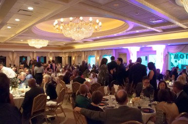The Oak Park Country Club filled with supporters of PCC Community Wellness Center and the PCC Birth Center.