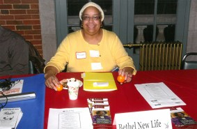 Mildred Wiley with Bethel New Life, Inc., one of our vendors