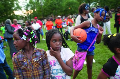 Moore Park hosted National Night Out on Aug. 6. (DAISY WINFREY/Contributor)