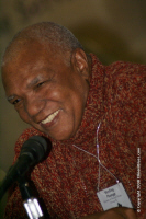 Poet Sterling Plumpp at 2008 Symposium