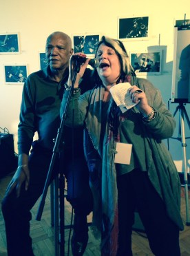 Poet Sterling Plummp, Dominican Professor. Janice Monti: Honoring the heritage of blues and gospel music in Chicago